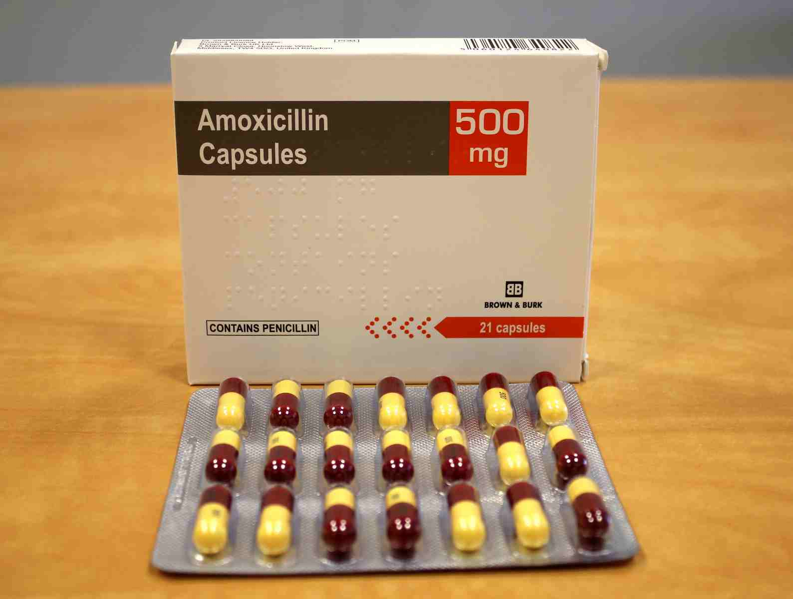 Amoxicillin 500 mg Capsules