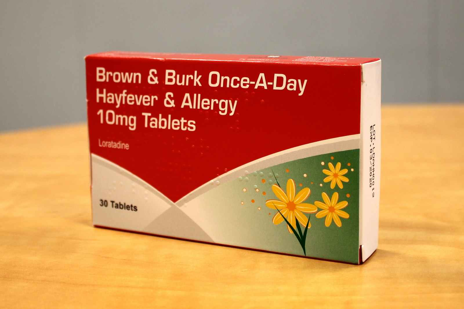 Once -A-Day Hayfever & Allergy 10 mg Tablets - B&B